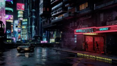 Cyberpunk 2077 Environment Wallpaper 68936