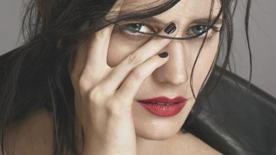 Eva Green Face Up Close Wallpaper 68681