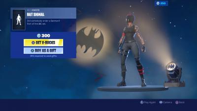 Fortnite Bat Signal Wallpaper 69066