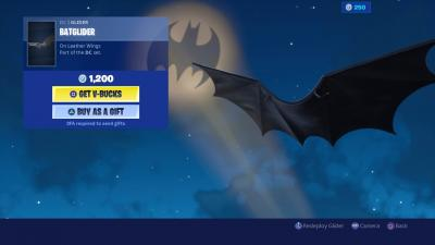 Fortnite Batglider Wallpaper 69064