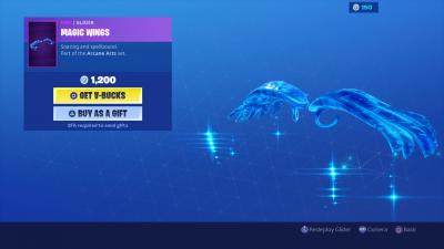 Fortnite Magic Wings Wallpaper 68543