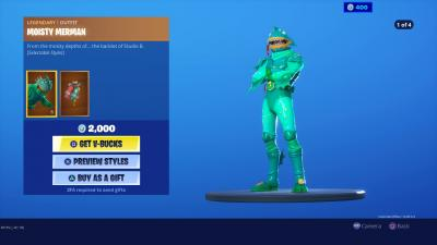 Fortnite Moisty Merman Wallpaper 69193