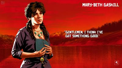 Red Dead Redemption 2 Mary Beth Wallpaper 68182