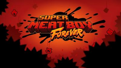Super Meat Boy Forever Logo Wallpaper 68903