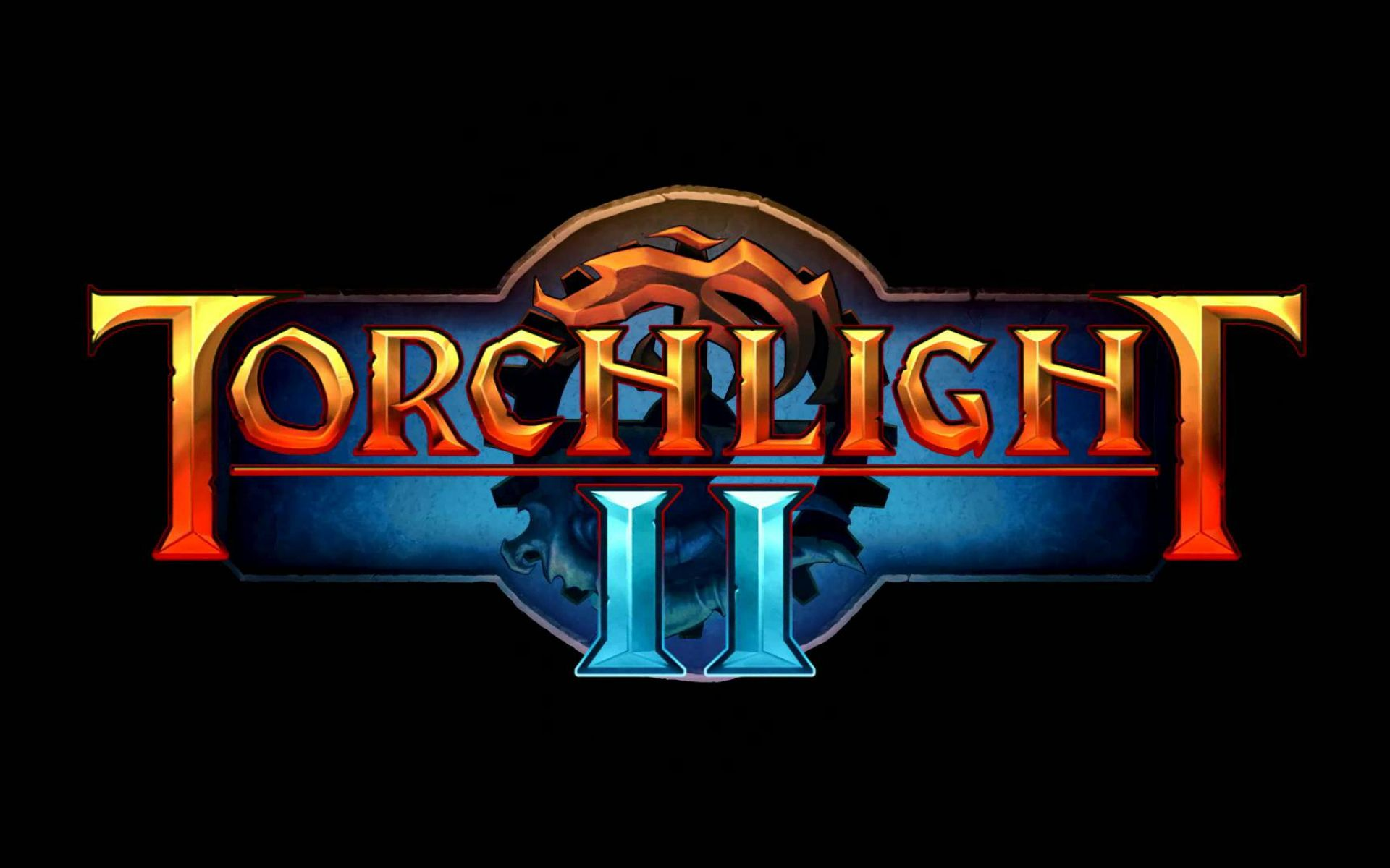 torchlight ii logo wallpaper 68590