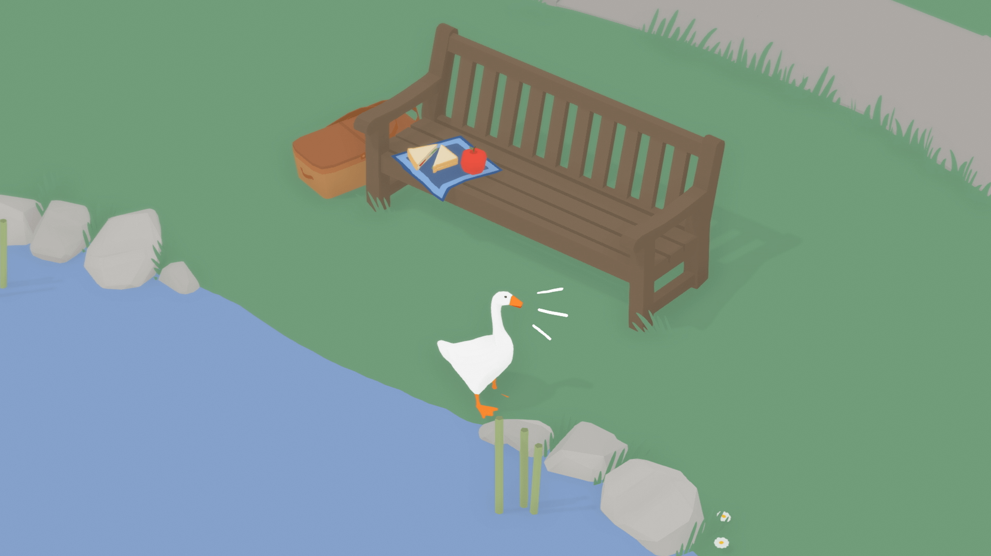 untitled goose game screenshot wide wallpaper 68474