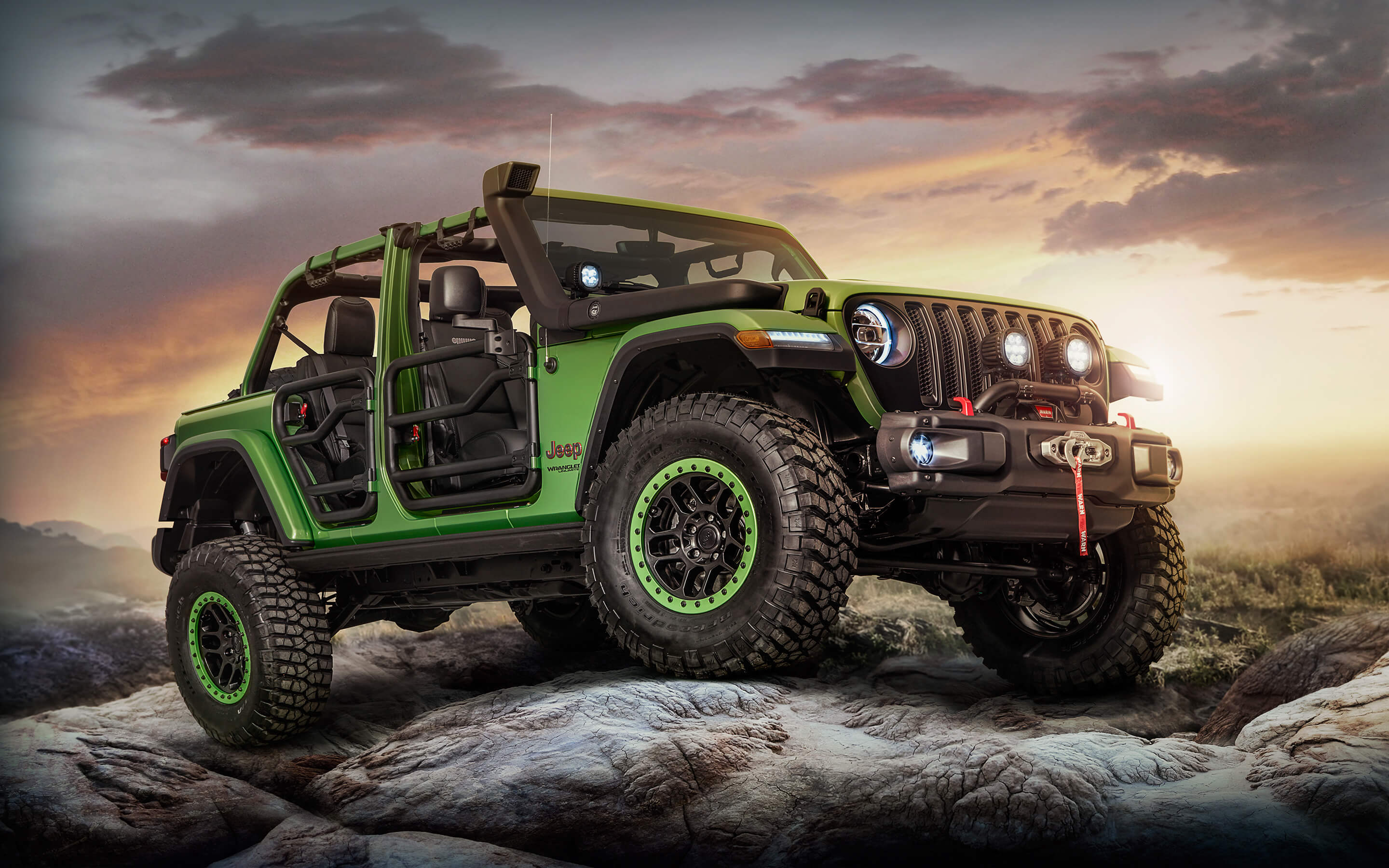 upgraded green jeep background wallpaper 66857