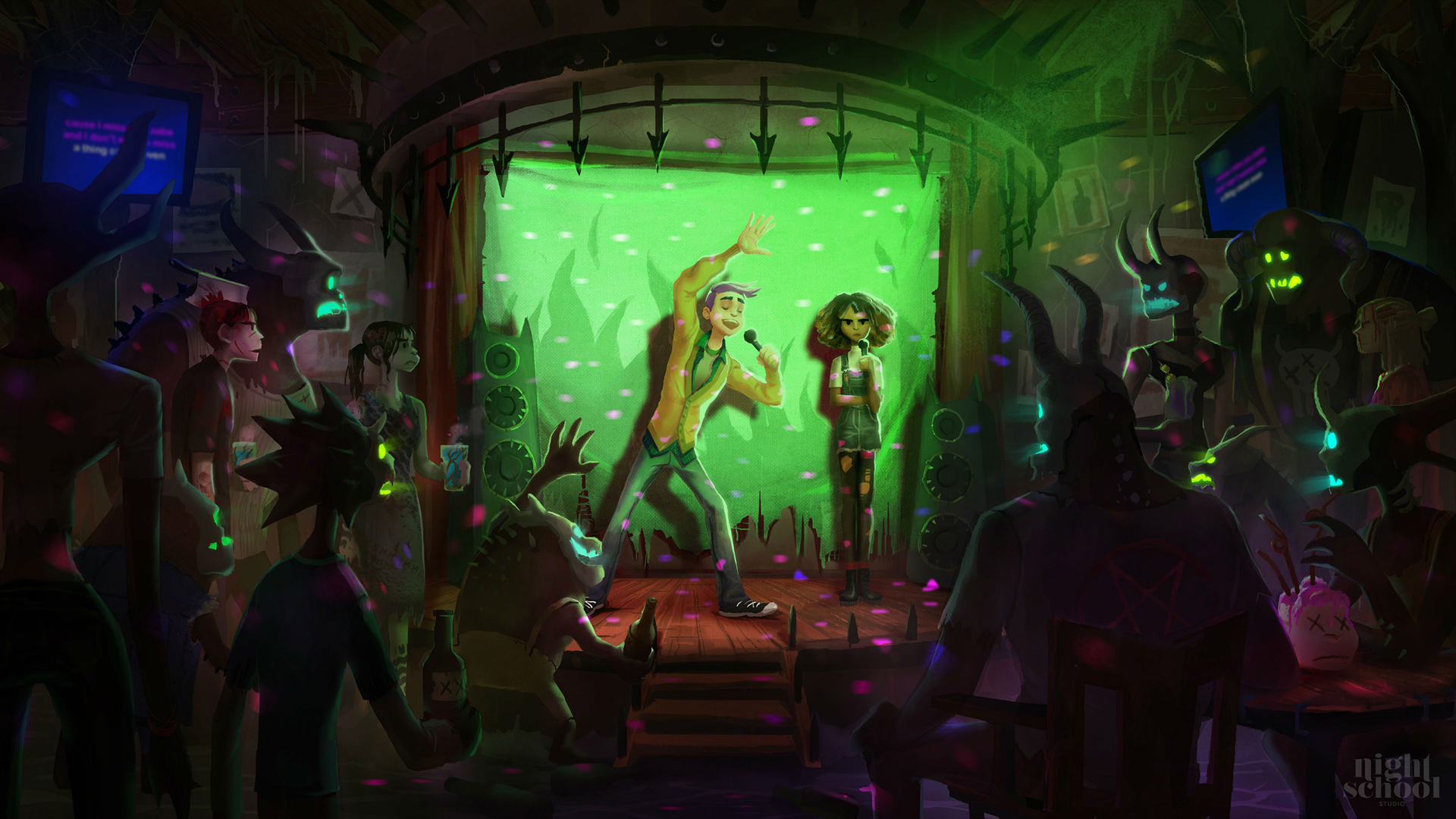 video game afterparty wallpaper 69360