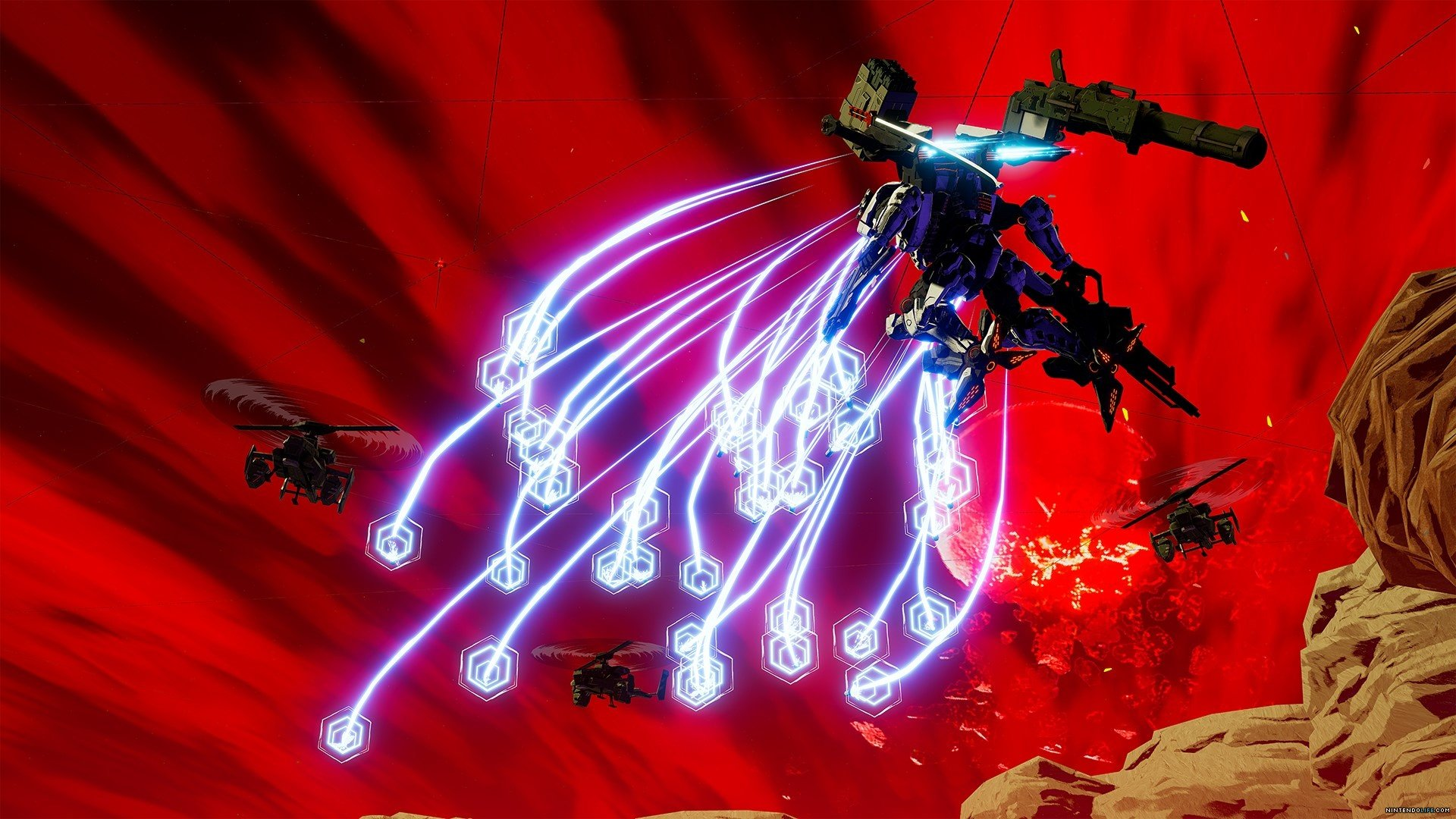 video game daemon x machina wallpaper 69441