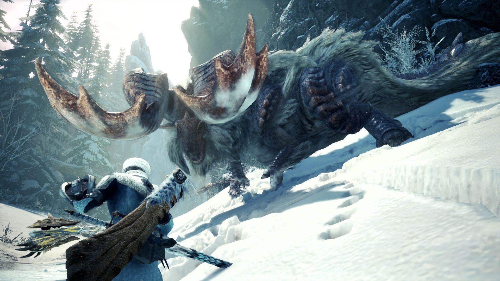 video game monster hunter world iceborne wallpaper 68443