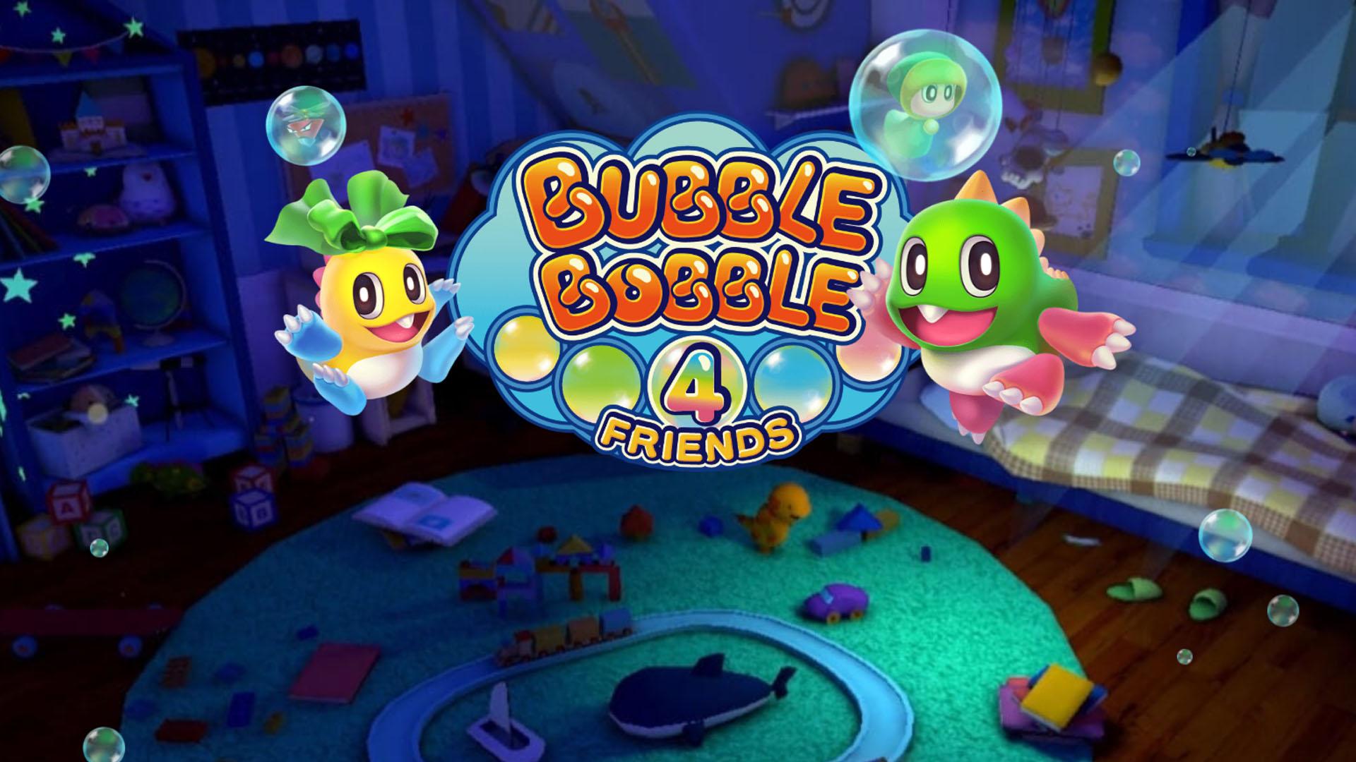 bubble bobble 4 friends video game wallpaper 69557