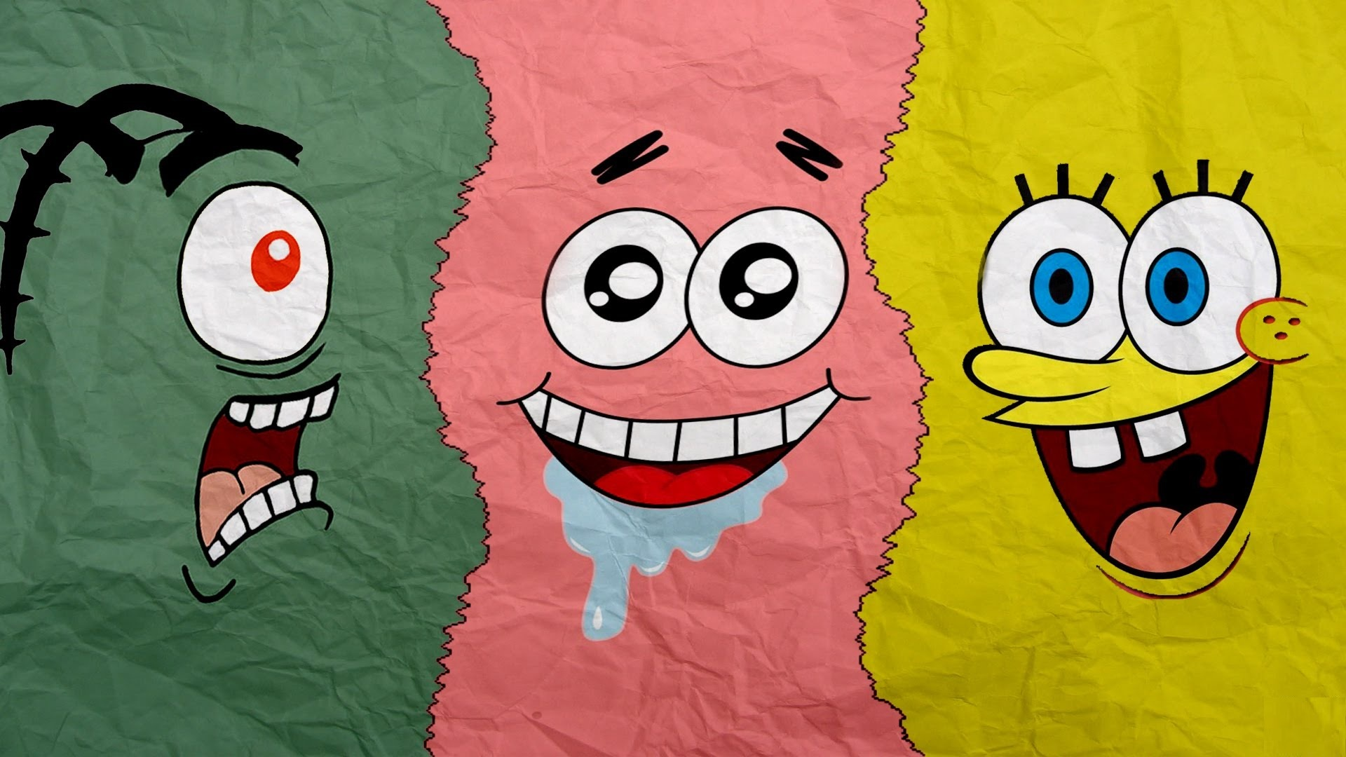 plankton patrick spongebob wallpaper 66734