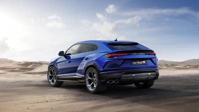 Blue Lamborghini Urus Car Wallpaper 66518