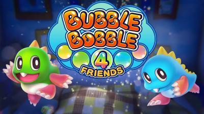 Bubble Bobble 4 Friends Game Wallpaper 69556