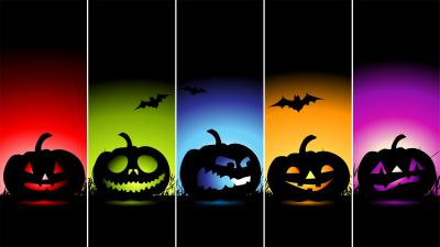 Colorful Halloween Wallpaper 69009