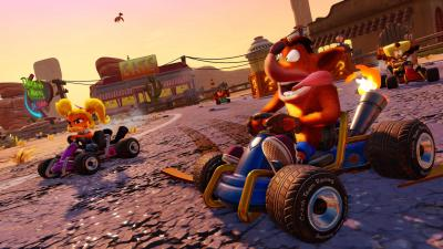 Crash Team Racing Nitro Fueled Background Wallpaper 68124