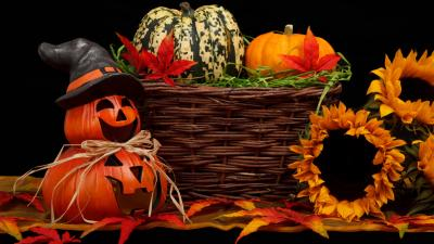 Festive Halloween Background Wallpaper 69011