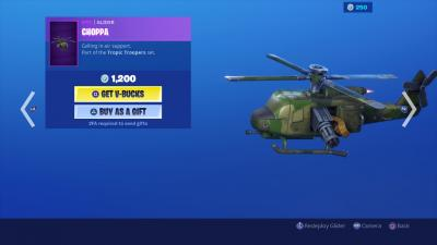 Fortnite Choppa Glider Wallpaper 69085