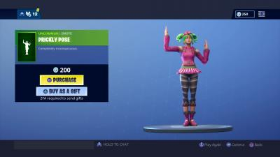 Fortnite Prickly Pose Wallpaper 67696