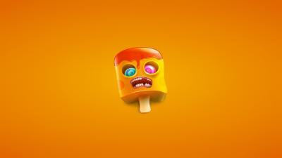 Funny Ice Cream Cone Wallpaper 66691