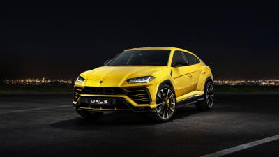 Lamborghini Urus Background HD Wallpaper 66525