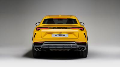 Lamborghini Urus Rear View Wallpaper 66530