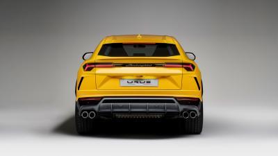 Lamborghini Urus Rear View Wallpaper 66530