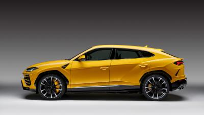 Lamborghini Urus SUV Side View Wallpaper 66531