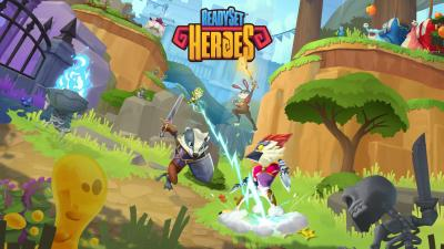 ReadySet Heroes Background Wallpaper 69601