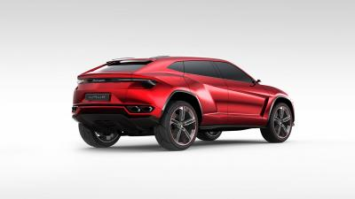 Red Lamborghini Urus Wallpaper 66533