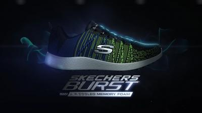 Sketchers Burst Shoes Wallpaper 68294