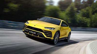 Yellow Lamborghini Urus Rolling Shot Wallpaper 66521