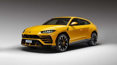 Yellow Lamborghini Urus Wallpaper 66516