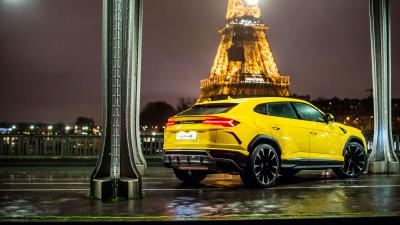 Yellow Lamborghini Urus Widescreen HD Wallpaper 66523