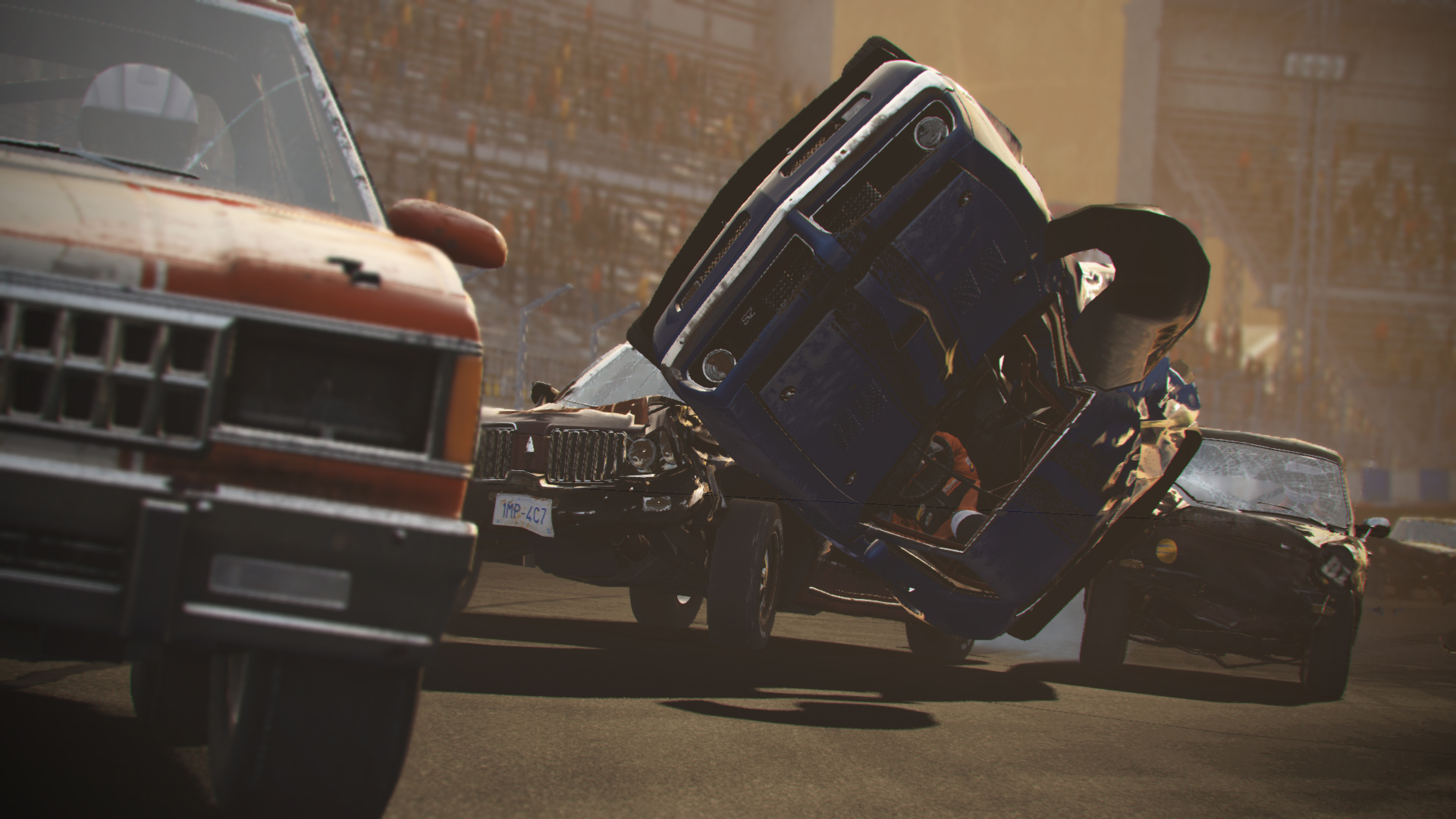 wreckfest car flip wallpaper 69662