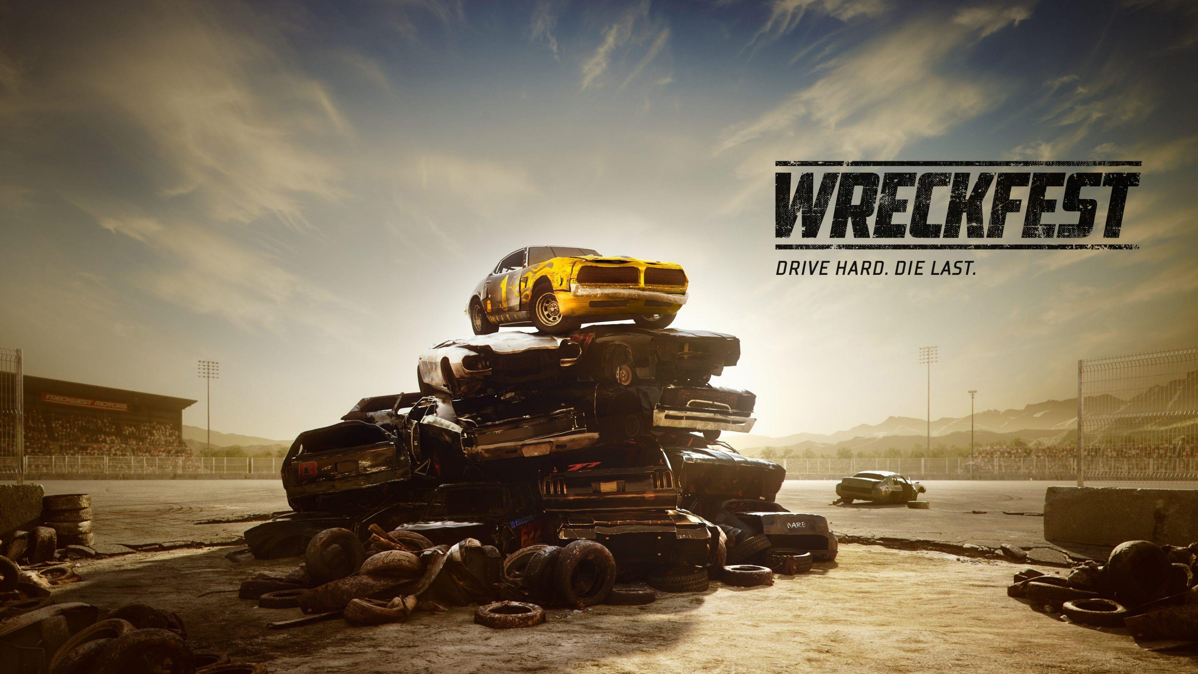 wreckfest game background wallpaper 69657