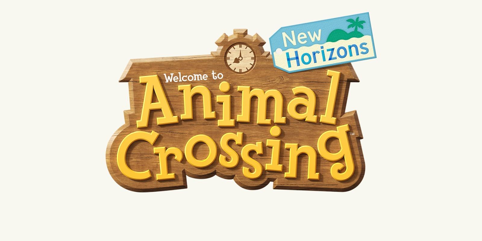 animal crossing new horizons logo wallpaper 69261