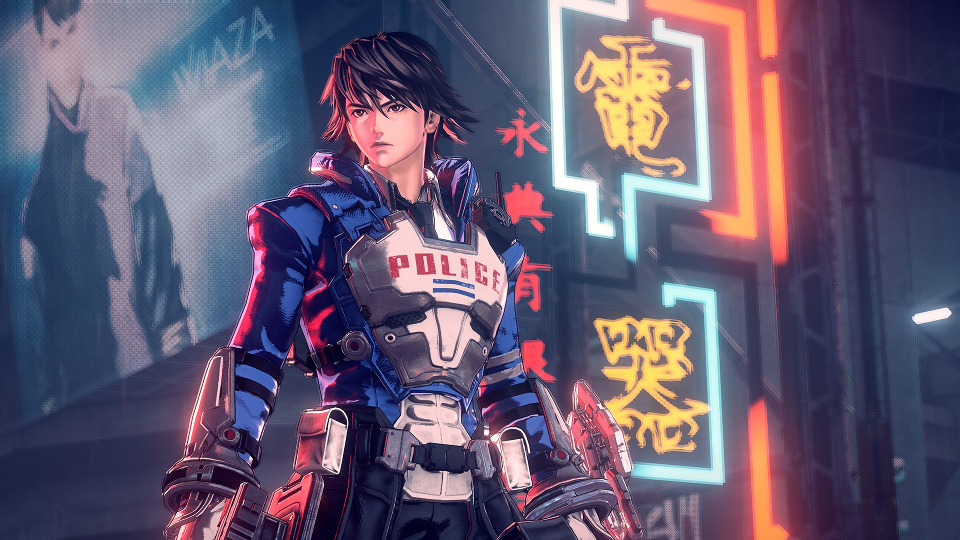 astral chain video game wallpaper 67548