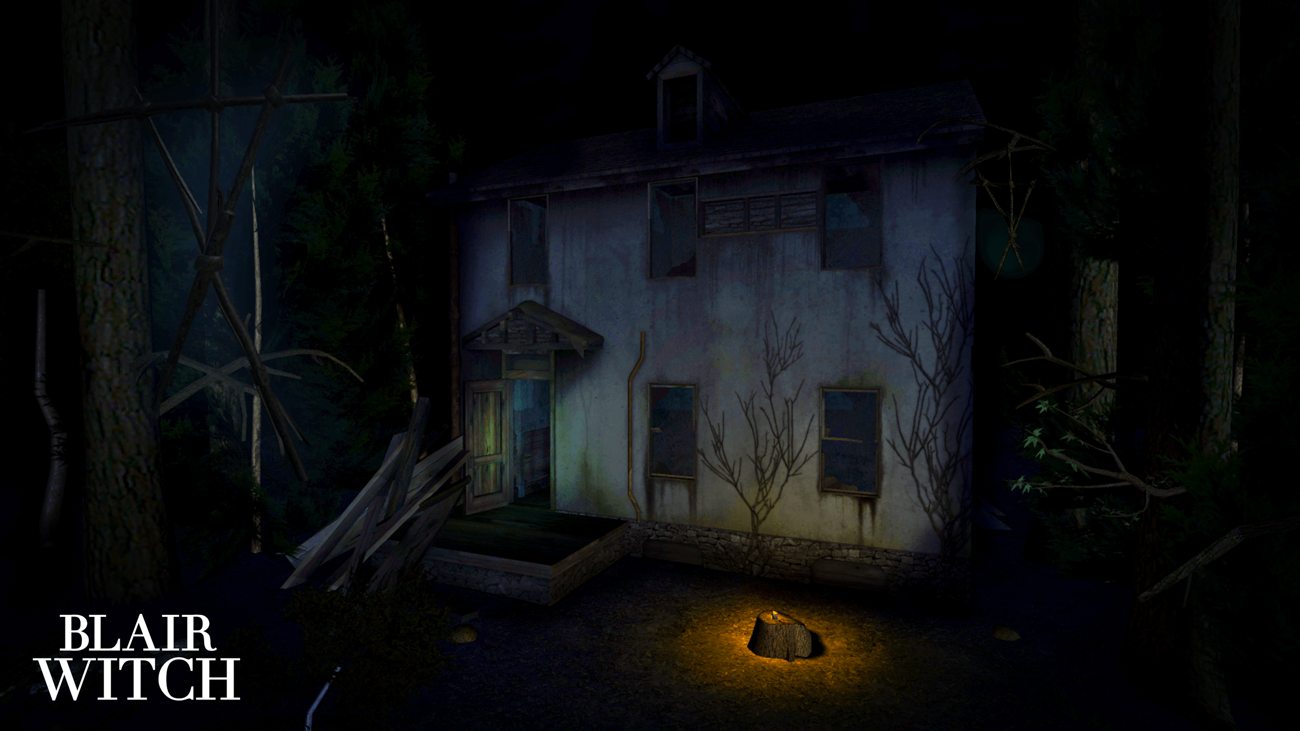 blair witch video game widescreen wallpaper 68763
