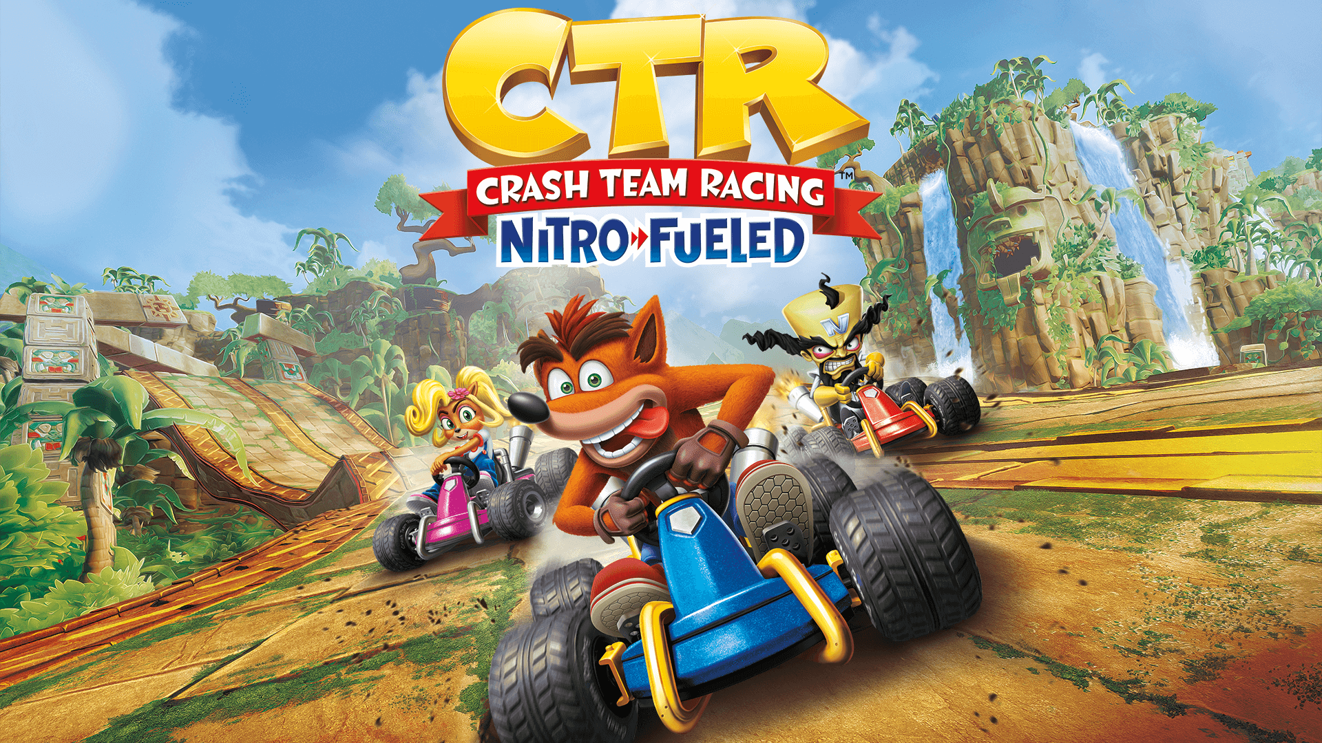 crash team racing nitro fueled background hd wallpaper 68139