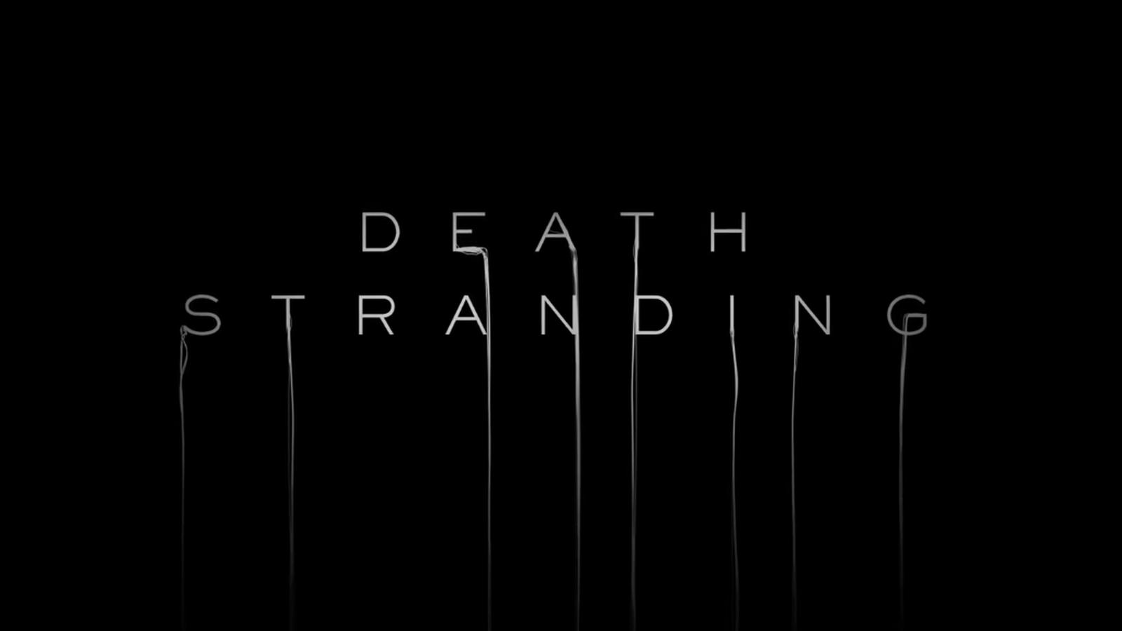death stranding logo wallpaper 68112