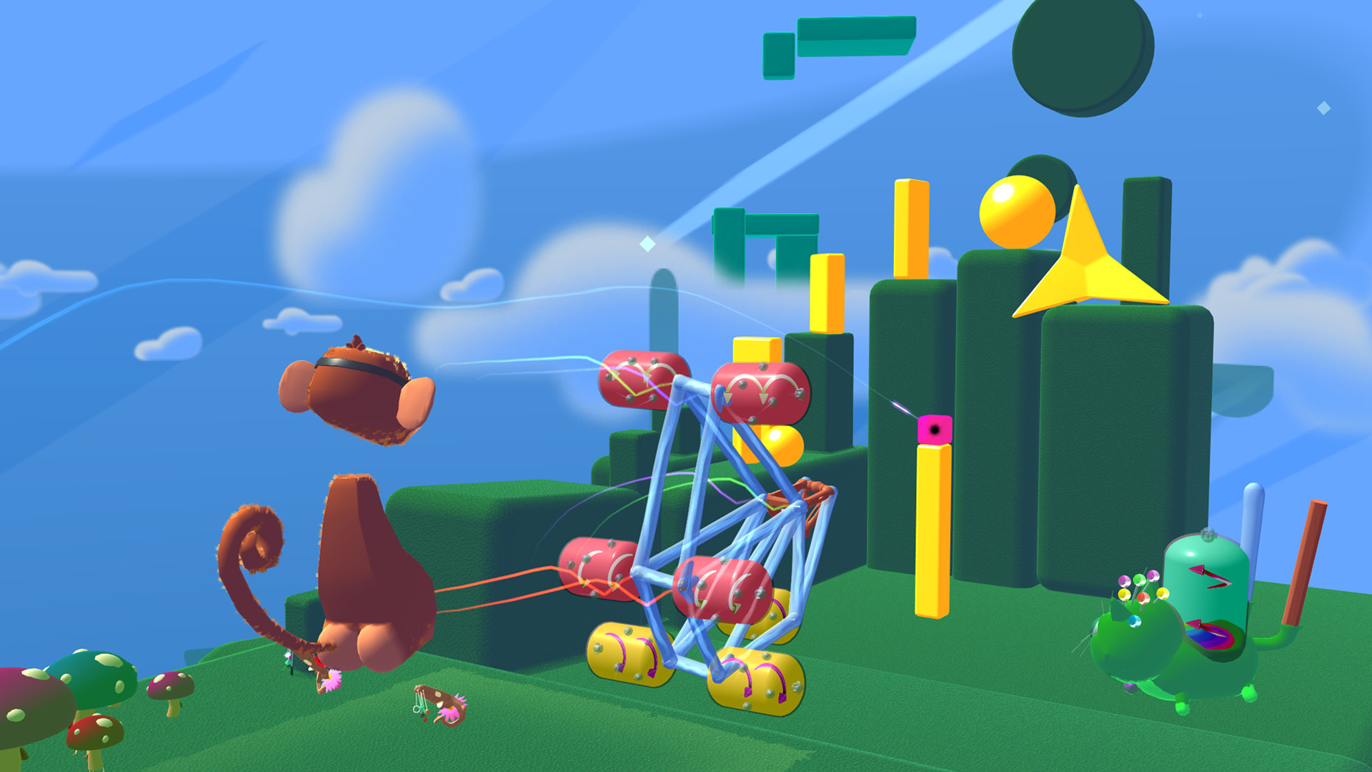 fantastic contraption vr video game wallpaper 68008