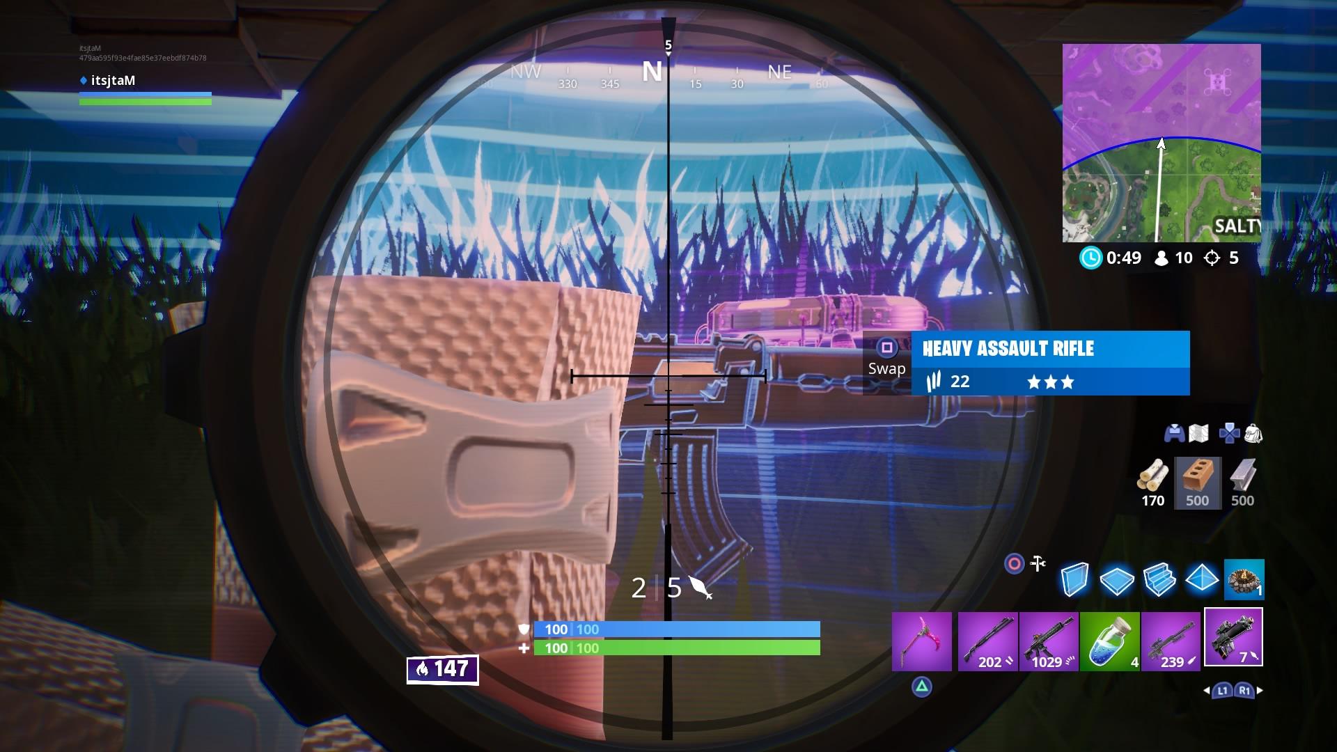 fortnite proximity grenade launcher scope wallpaper 67848