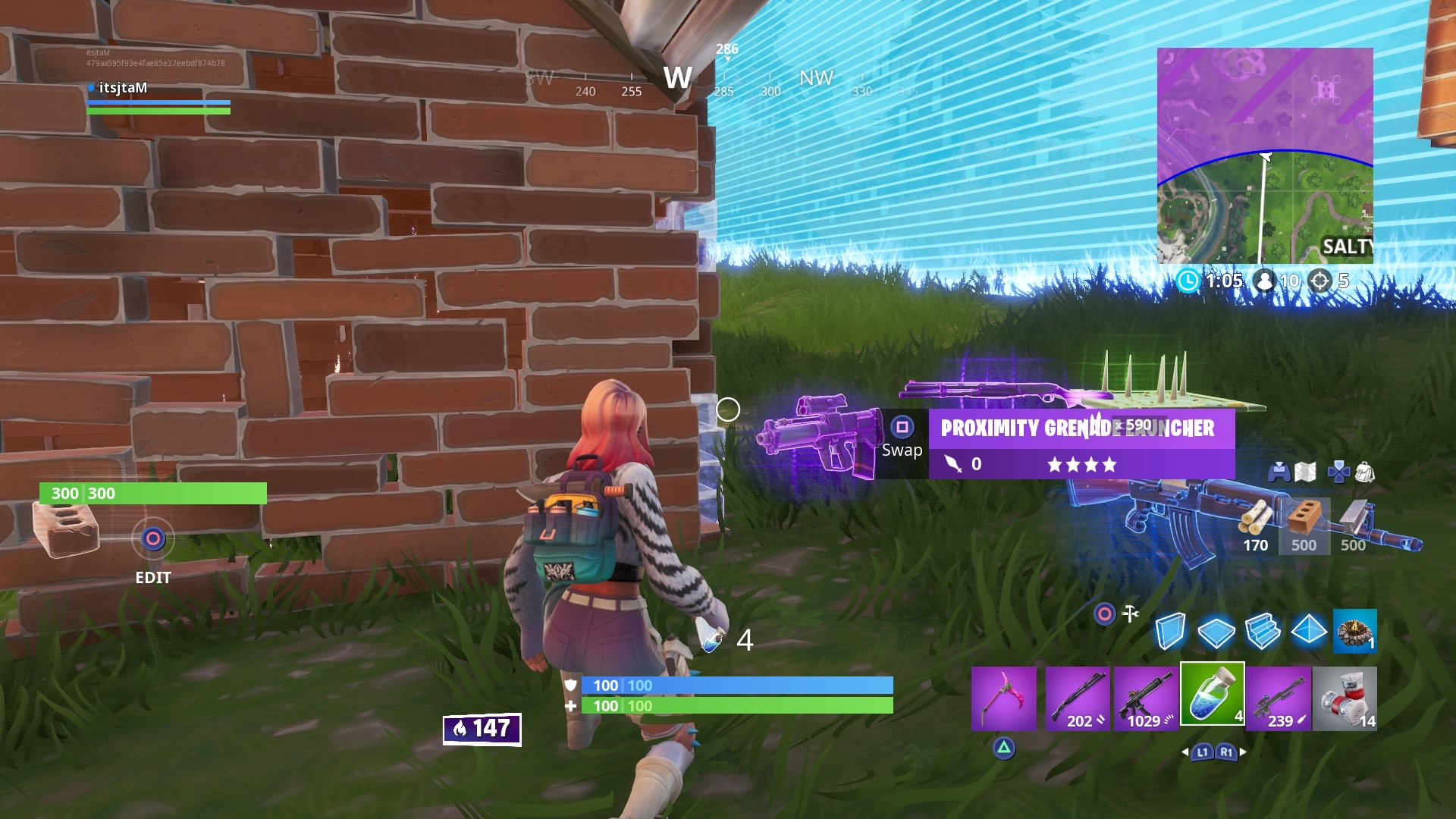 fortnite proximity grenade launcher wallpaper 67847