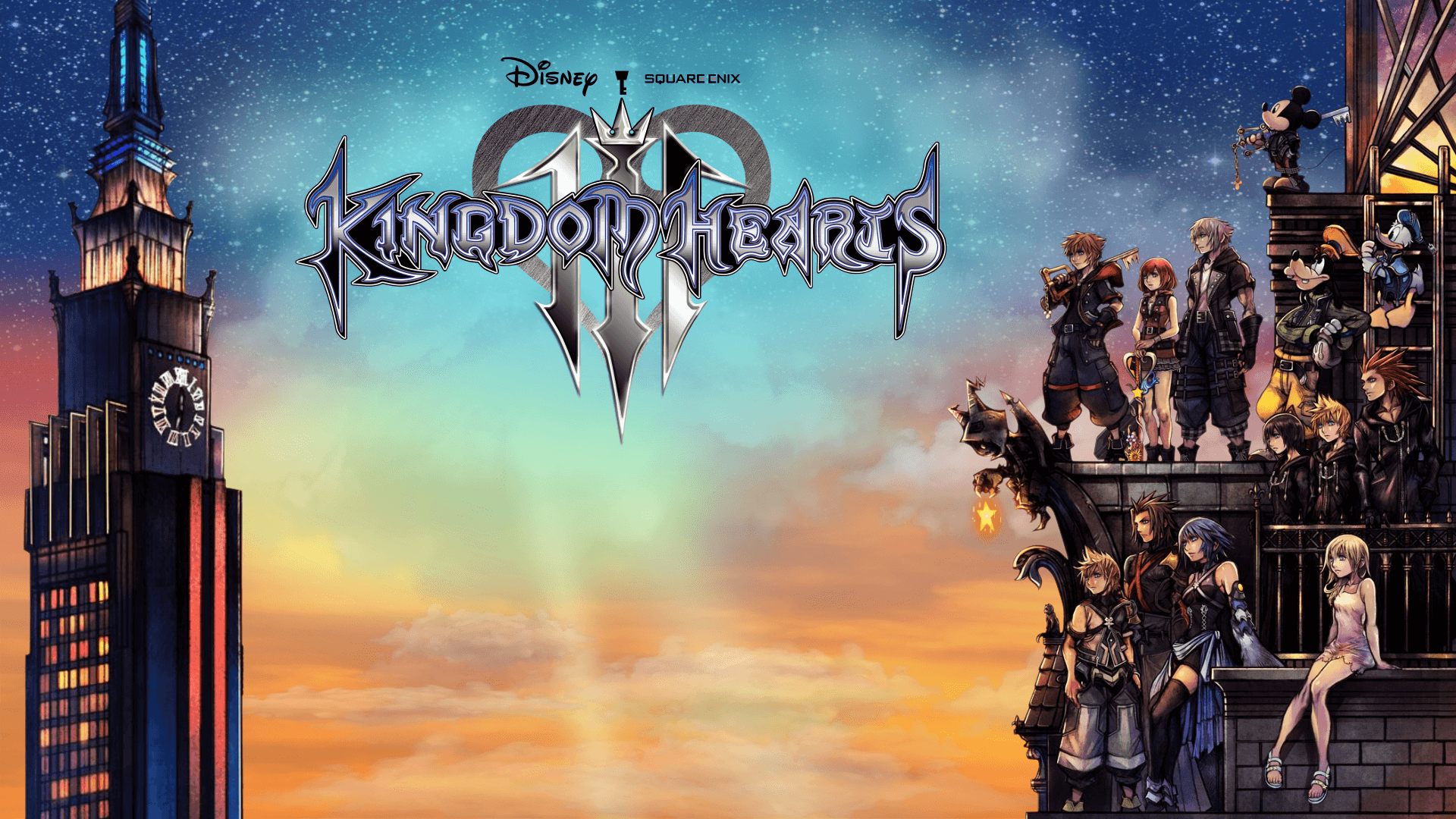 Kingdom Hearts 3 Game Wallpaper 67176 1920x1080px