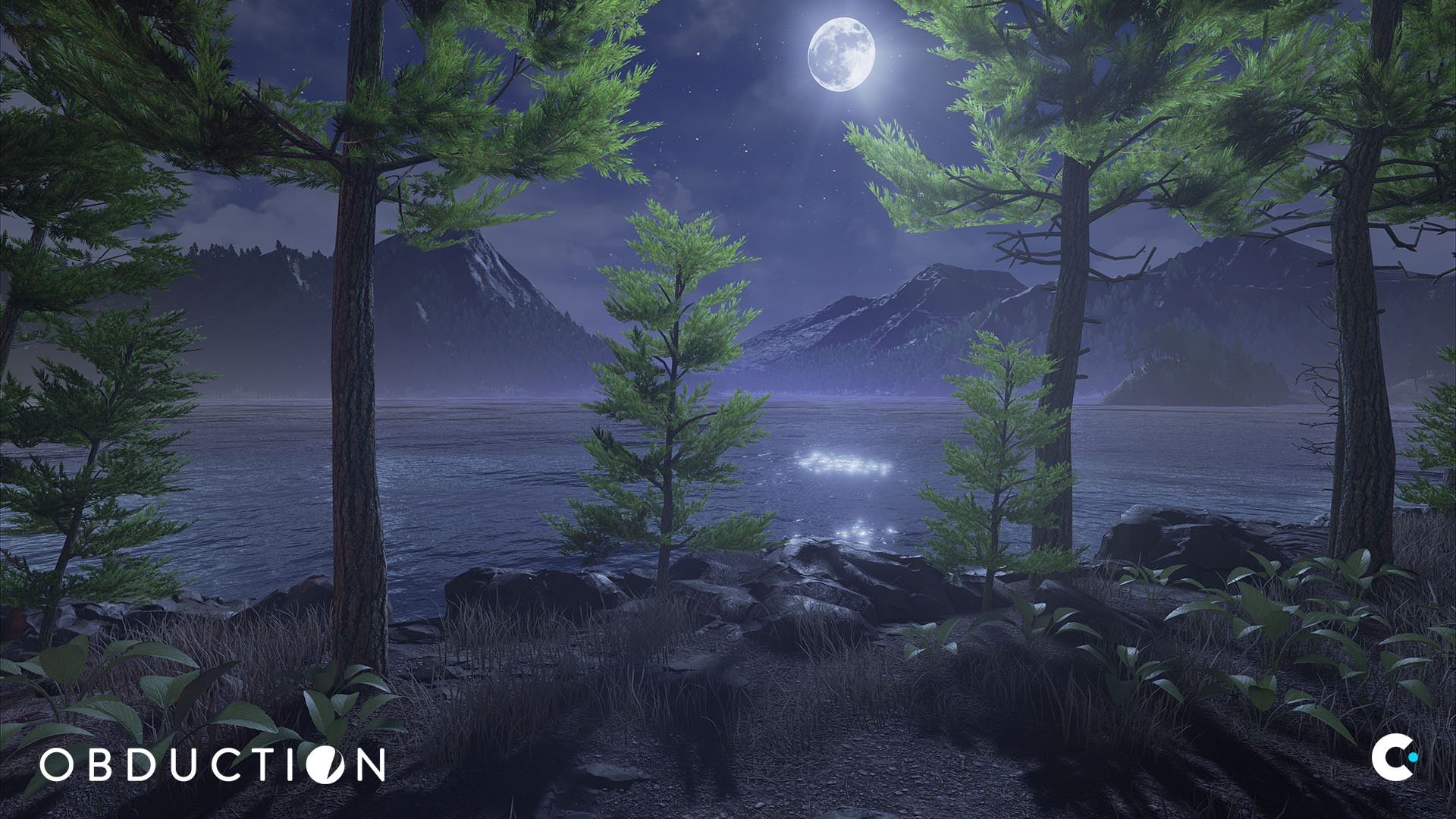 obduction game night landscape wallpaper 68032