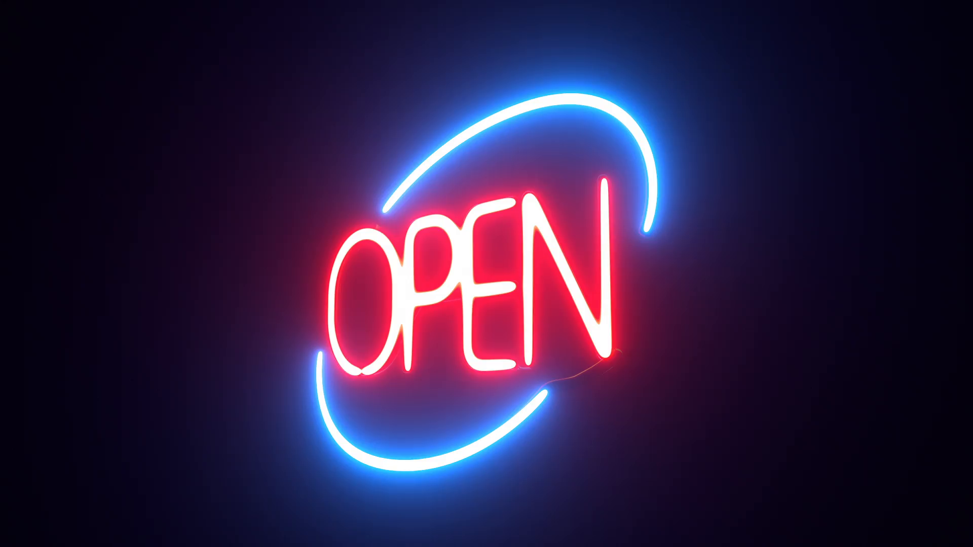 open neon sign wallpaper 66628