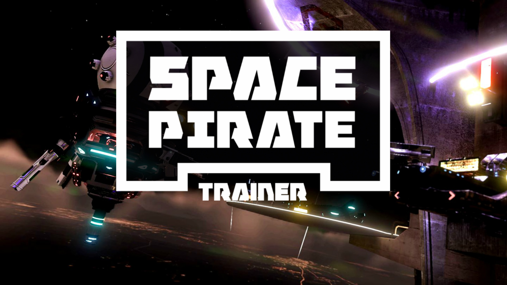 space pirate trainer logo wallpaper 67923