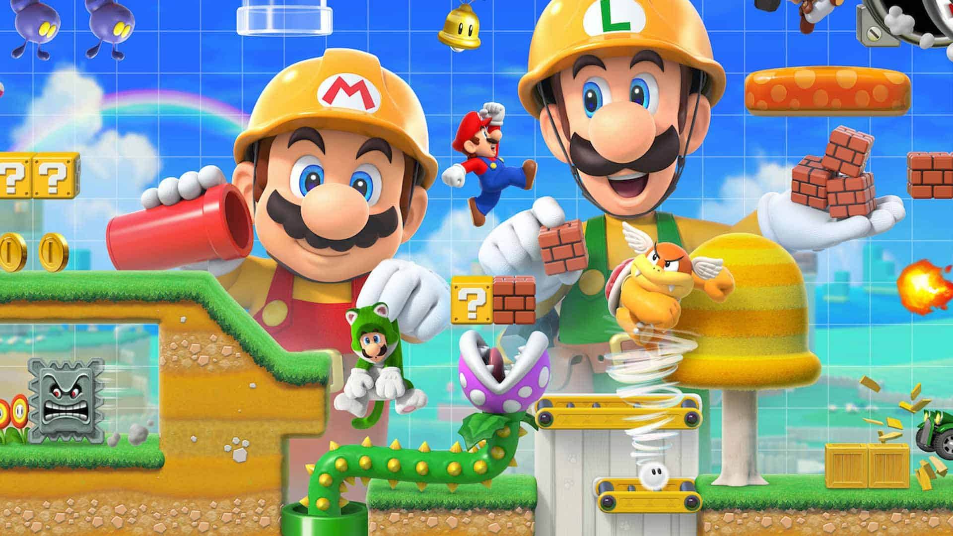 Download Super Mario Maker 2 Game Wallpaper 68161 1920x1080 px High