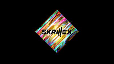 Colorful Skrillex Logo Background Wallpaper 68704